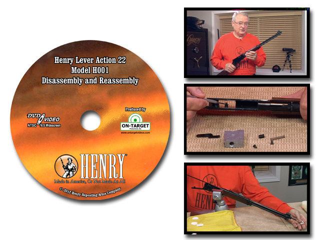 Henry Lever Action 22 Model H001
