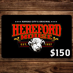 $150 Hereford House Gift Card