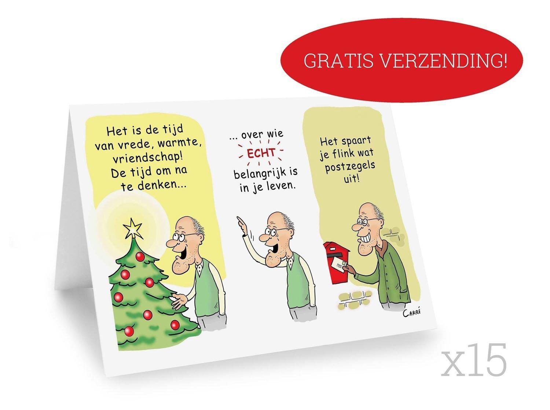 15 X Nieuwjaarskaart + Gratis verzending! (dubbelgeplooide kaart zonder omslag)