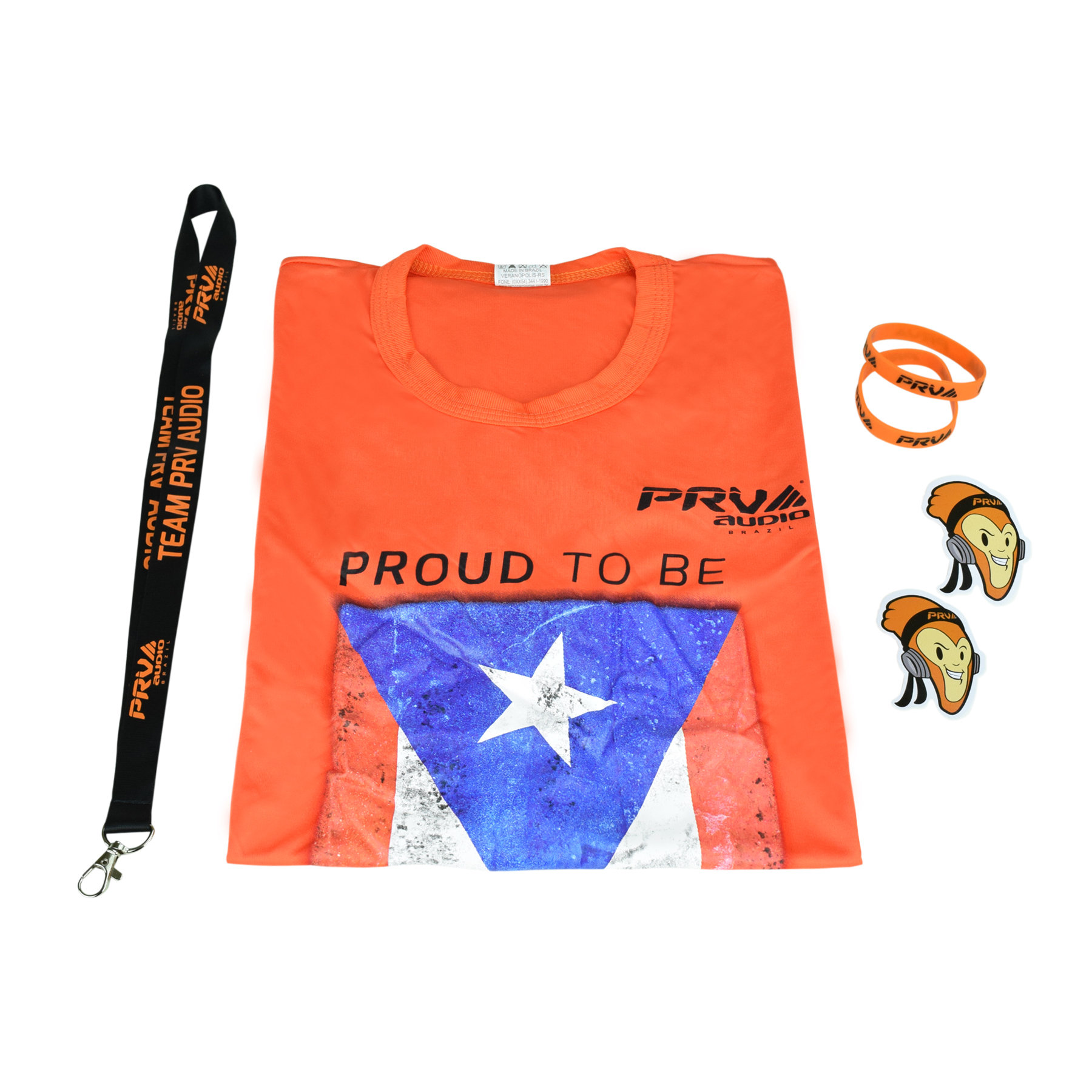 """PRV """"Proud to be PR"""" T-shirt Package pck6"""