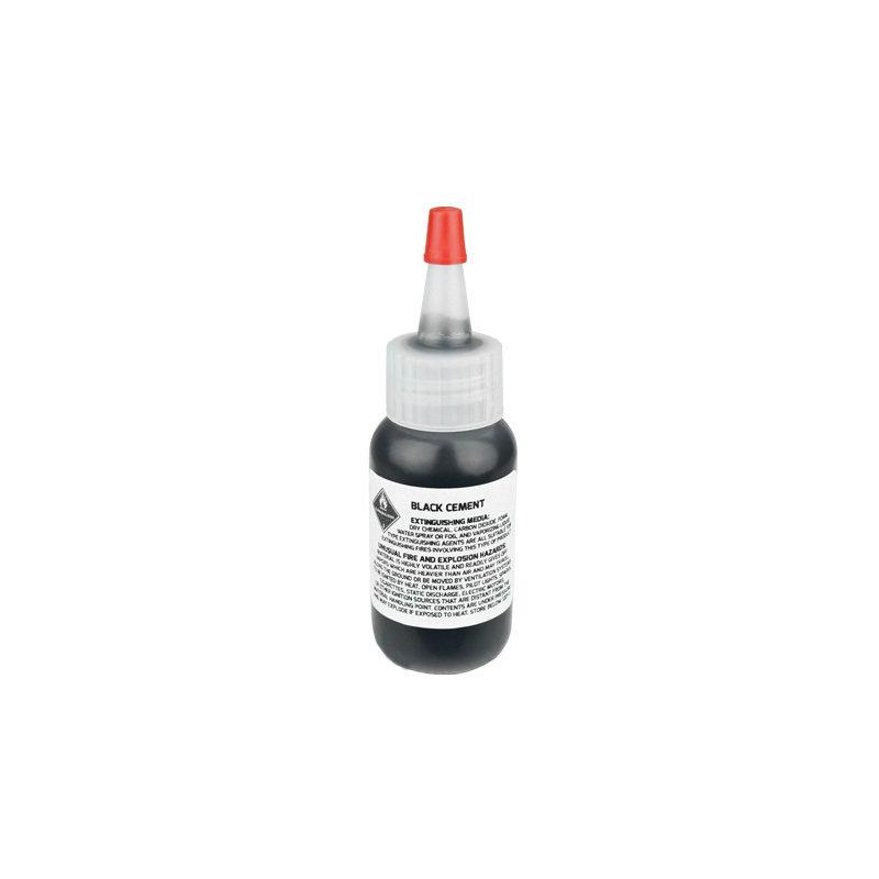 Black Rubber Cement Speaker Repair Glue pck8