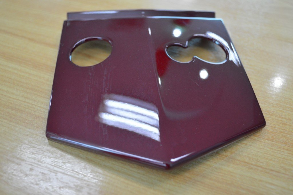 CFMOTO MIDDLE PLATE A010-040005-0R30 RED