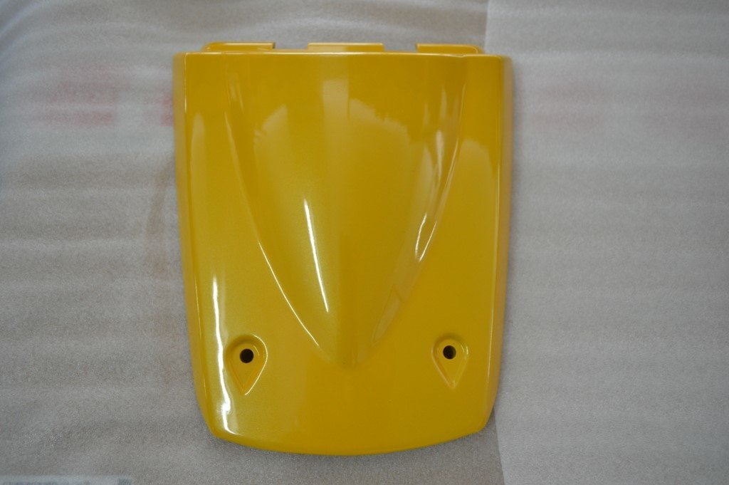 MEGELLI SEAT REAR COVER ( PLASTIC) YELLOW 71300-170A-0003Y