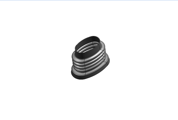 JAC CORRUGATED PIPE AIR CLEANER SNORKEL RUBBER 1109240LE010