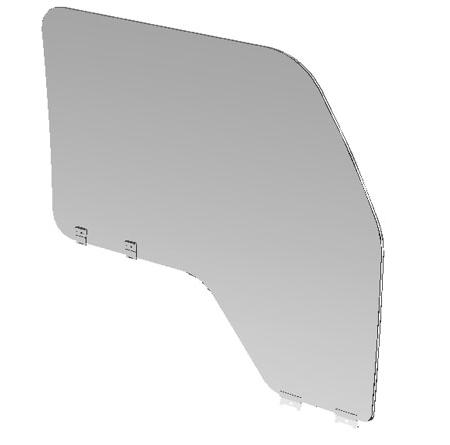 JAC LEFT DOOR GLASS 6103011E0