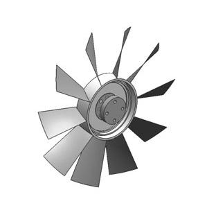 JAC ENGINE FAN WITH CLUTCH FAN SET (SILICONE OIL CLUTCH FAN ASSY)  1308010LE310