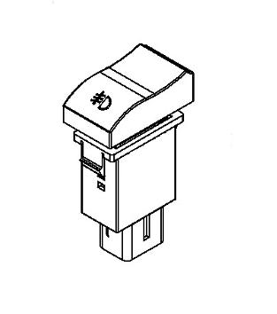 JAC FOG LAMP SWITCH 24V 3714940E800