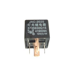 JAC FOUR CONTACT RELAY 12V  (LAMP LIGHT RELAY) 3735930Q15