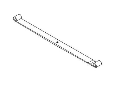 JAC FRONT LEAF SPRING 1ST (L/R) 2902011LE050XZ