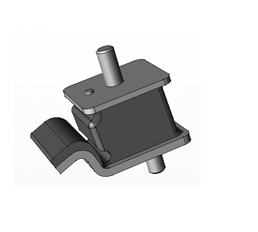 JAC GEARBOX MOUNTING 1001030E811