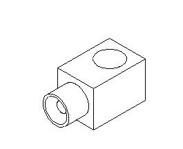 JAC HANDBRAKE PERFORATION CONNECTOR 1607012C18GB
