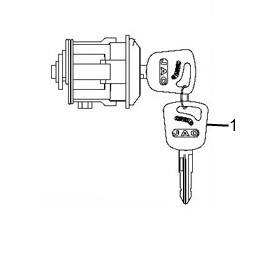 JAC IGNITION SWITCH ASSY 3774930D304