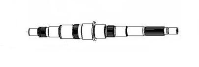 JAC MAIN SHAFT N-1701201-23