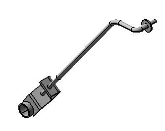 JAC RADIATOR PULL ROD ASSY 1300020E8510