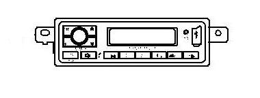 JAC MP3 RADIO ASSY 24V 7901910E8513