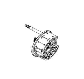 JAC REAR RIGHT BRAKE ASSEMBLY 3502200-E8510