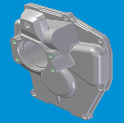 JAC REAR COVER GEARBOX N-1701521-21-02