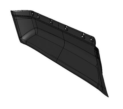JAC REAR WALL INTERIOR PANEL 5602110LE010