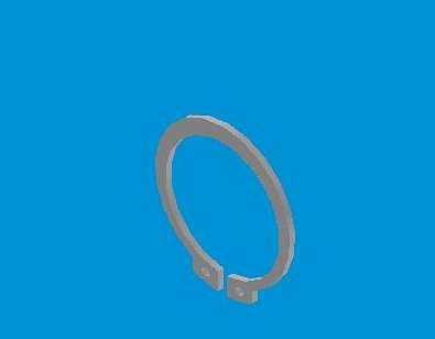 JAC INPUT SHAFT SNAP RING N-1701133-00