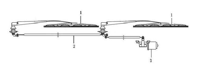 JAC WIPER MOTOR 12V 3741920D600
