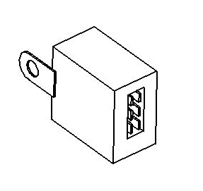 JAC WIPER RELAY 12V 3735960LD010