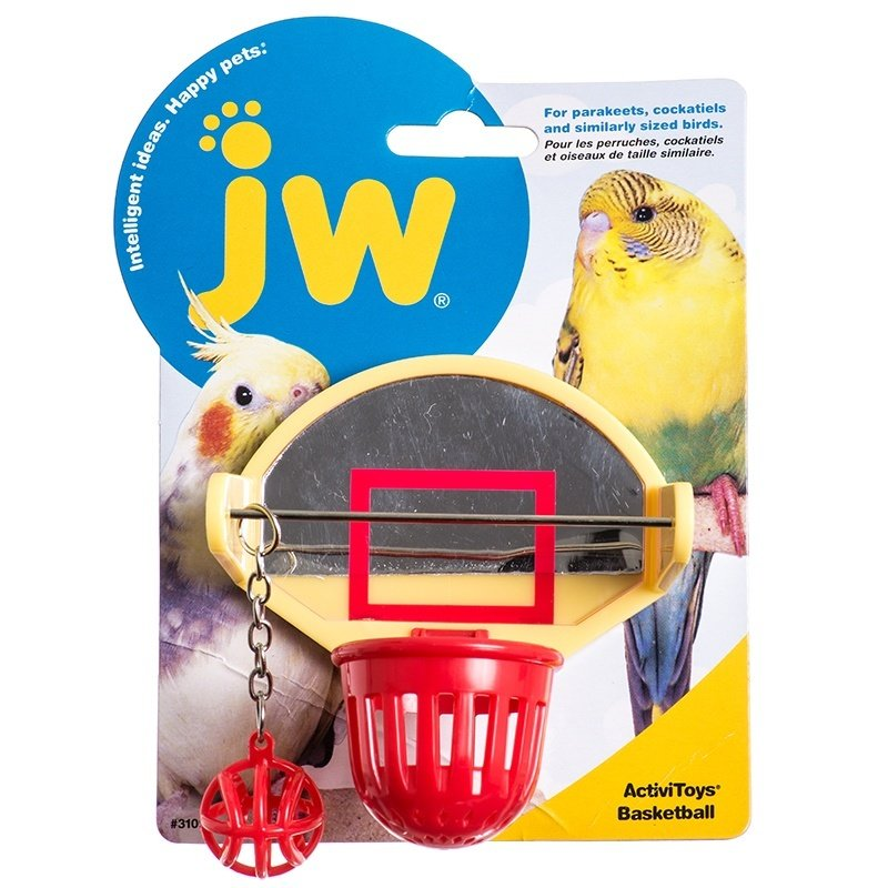 JW Bird Toys - Basketball 618940310921