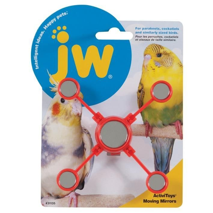 JW Bird Toys - Moving Mirrors 618940311355
