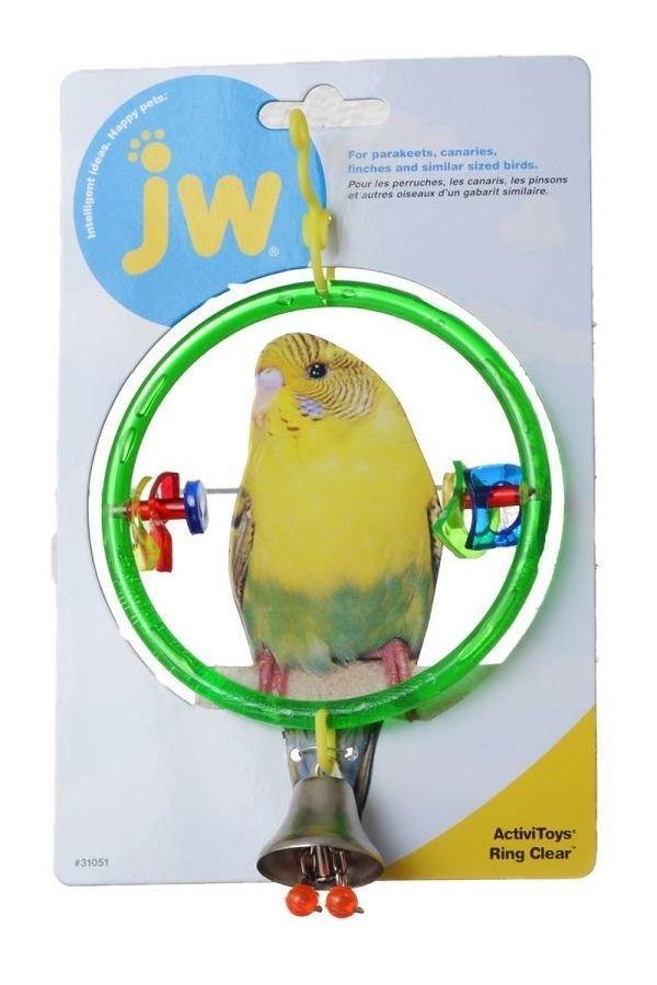 JW Bird Toys - Ring Clear 618940310518