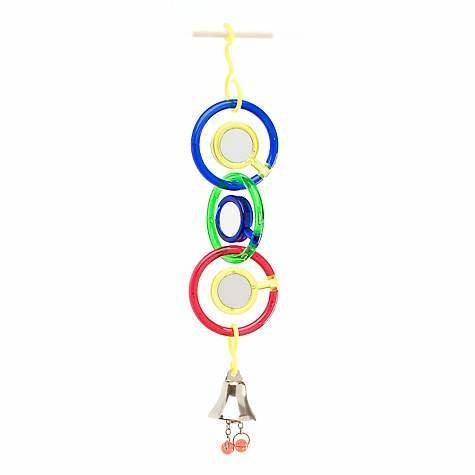 JW Bird Toys - Triple Mirror with Bell 618940310327