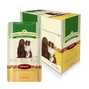 Wellbeloved Dog Adult Pouch Lamb With Rice 150g 9003579308226