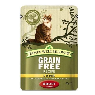 Jw Cat Adult Pouch Lamb 85g 9003579310533
