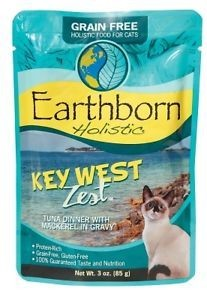 Earth Born Holistic Key West Zest Tuna Dinner Grain Free Tuna Dinner 3 oz 24 count (?/?) (A.J4)