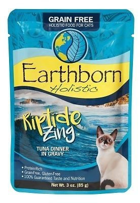 Earthborn Holistic Riptide Zing Tuna Dinner in Gravy 3 oz 24 count (4/19) (A.J4)