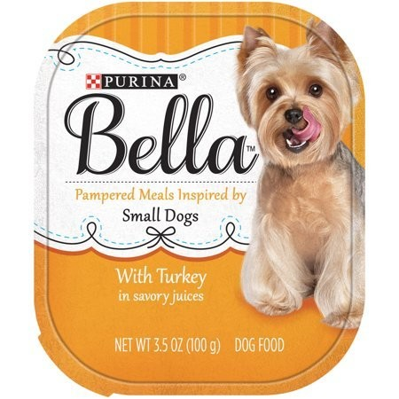 Purina Bella With Turkey in Savory Juices Adult Wet Dog Food Case of 12- 3.5 oz. (3/19) (A.J4)
