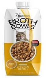 Fruitables Broth Bowls For Cats - Chicken (16.9 Fl Oz) (3/19) (A.K5)