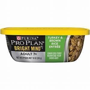 Pro Plan Bright Mind Adult 7+ Turkey & Brown Rice Entrée 10oz SINGLES