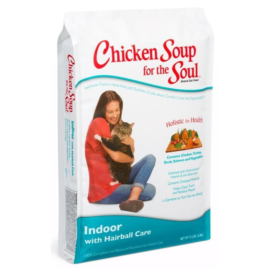 BRAND NEW Chicken Soup for the Soul Indoor Hairball 15 pounds PRE-ORDER ONLY!