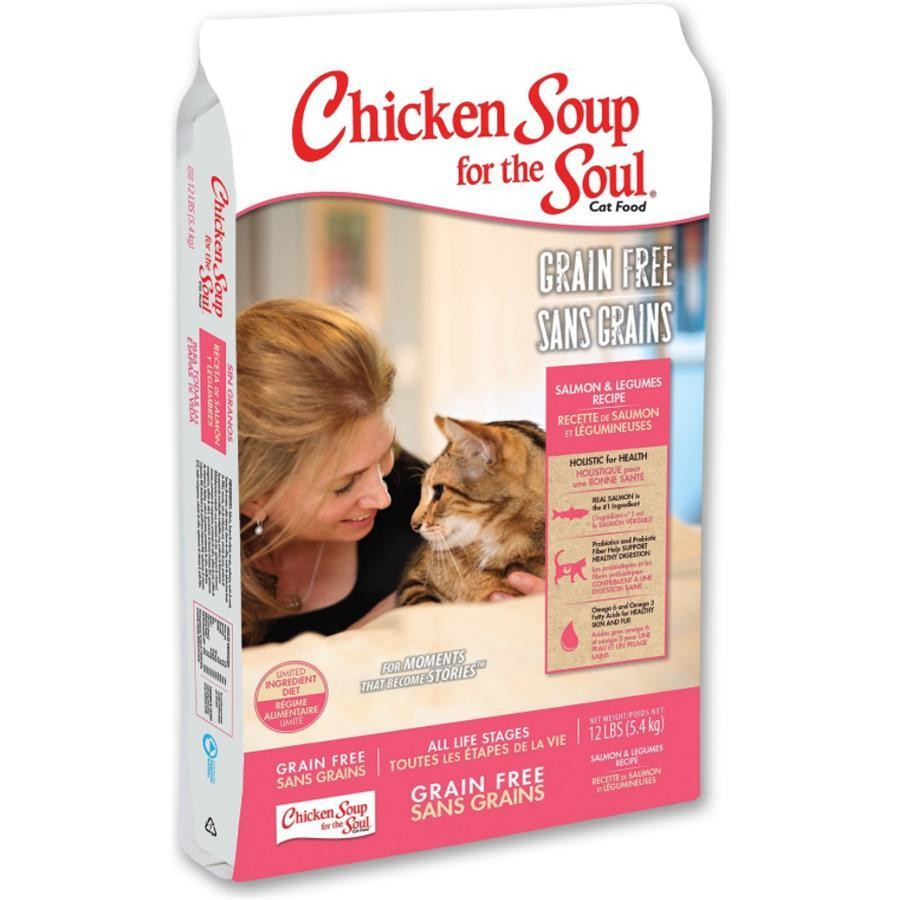 BRAND NEW Chicken Soup for the Soul Grain Free Salmon and Legumes Limited Ingredient Diet 12 pounds PRE-ORDER ONLY!!
