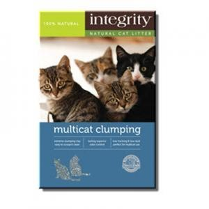 NEW Integrity Multi-Cat Clumping Litter 25 pounds (A.F2)