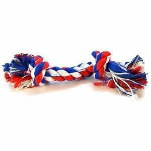 "Mammoth Flossy Chews Color Rope Bones EXTRA LARGE 16"" **Picture is for representation only**"