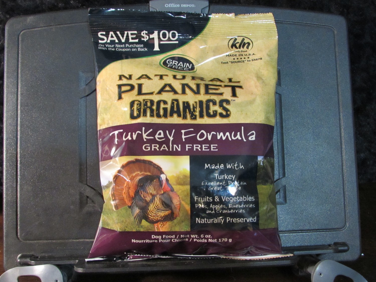 Natural Planet Organic Grain Free Turkey Dog 6 oz ($1.00 OFF Coupon) (5/18) (A.Q5)