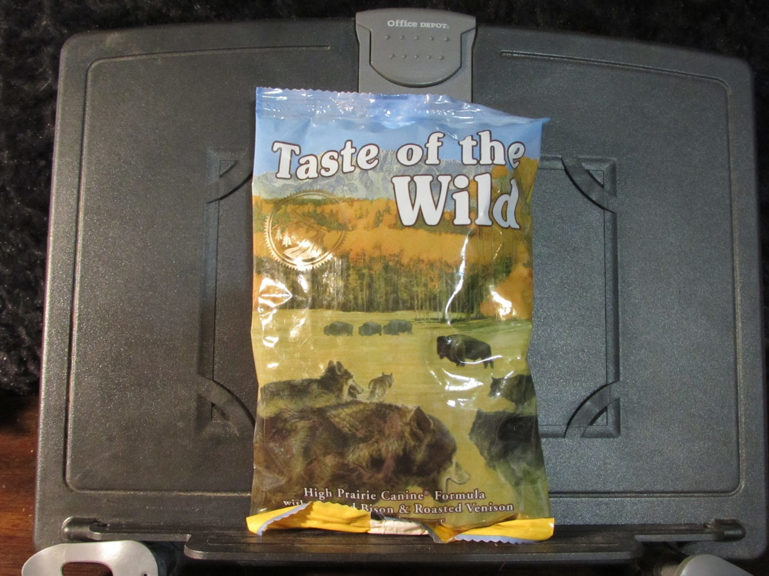 Taste of the Wild High Prairie Roasted Bison & Venison Dog 6 oz (8/18) (A.Q1)