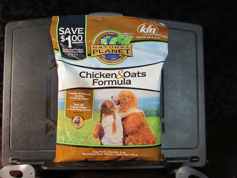 Natural Planet Chicken & Oats Dog 6 oz (4/18) (A.Q5)