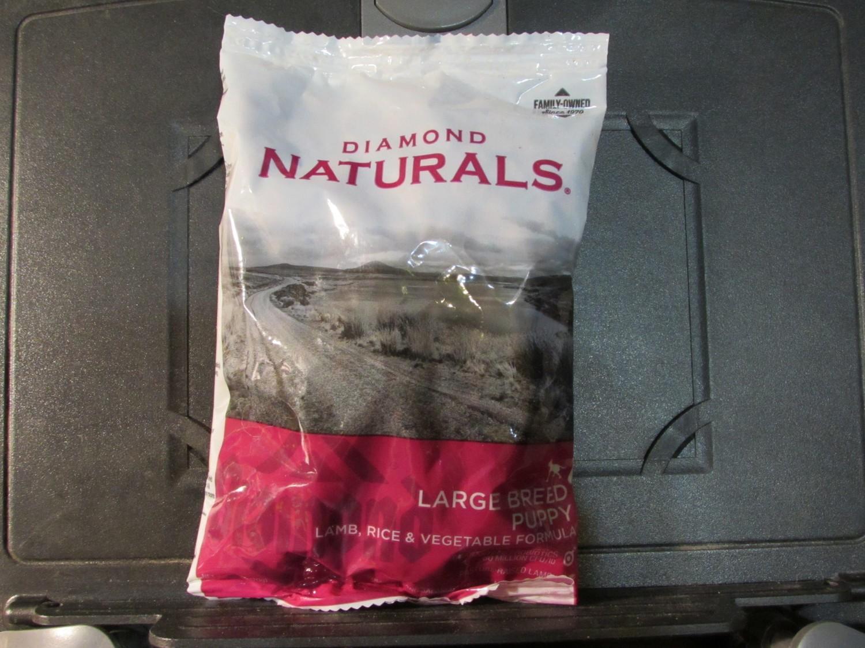 Diamond Naturals Lamb & Rice Large Breed Puppy 6 oz (10/18) (A.Q3)