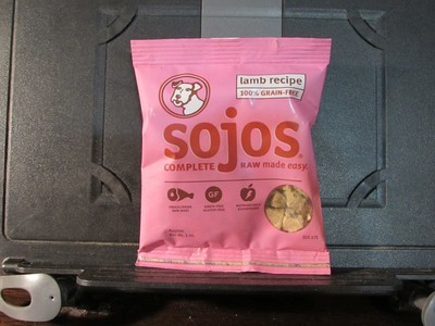 Sojos Complete 100% Grain Free Lamb Recipe Trial Size 3 oz. (10/18) (T.B3)
