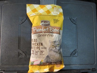 Merrick Purrfect Bistro Real Deboned Chicken GF 3 oz (2/19) (A.O6)
