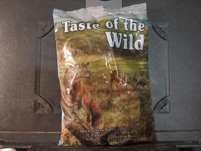 Taste of the Wild Appalachin Valley Small Breed Dog GF Venison & Garbanzo Beans 6 oz  (7/19)