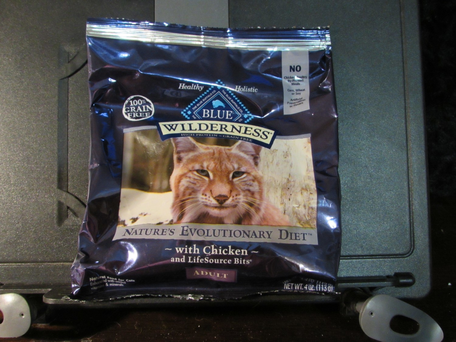Blue Wilderness GF HP Chicken for Cats 4 oz (8/18) (A.P5)