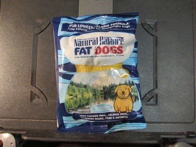 Natural Balance Fat Dogs Chicken, Salmon, Garbanzo Beans, Peas & Oatmeal 4 oz (2/18) (A.P3)