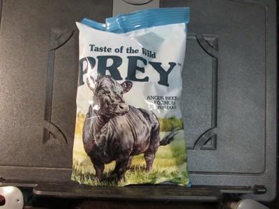 Taste of the Wild Prey Dog Angus Beef Dog 6 oz (12/18) (A.O6/O7)